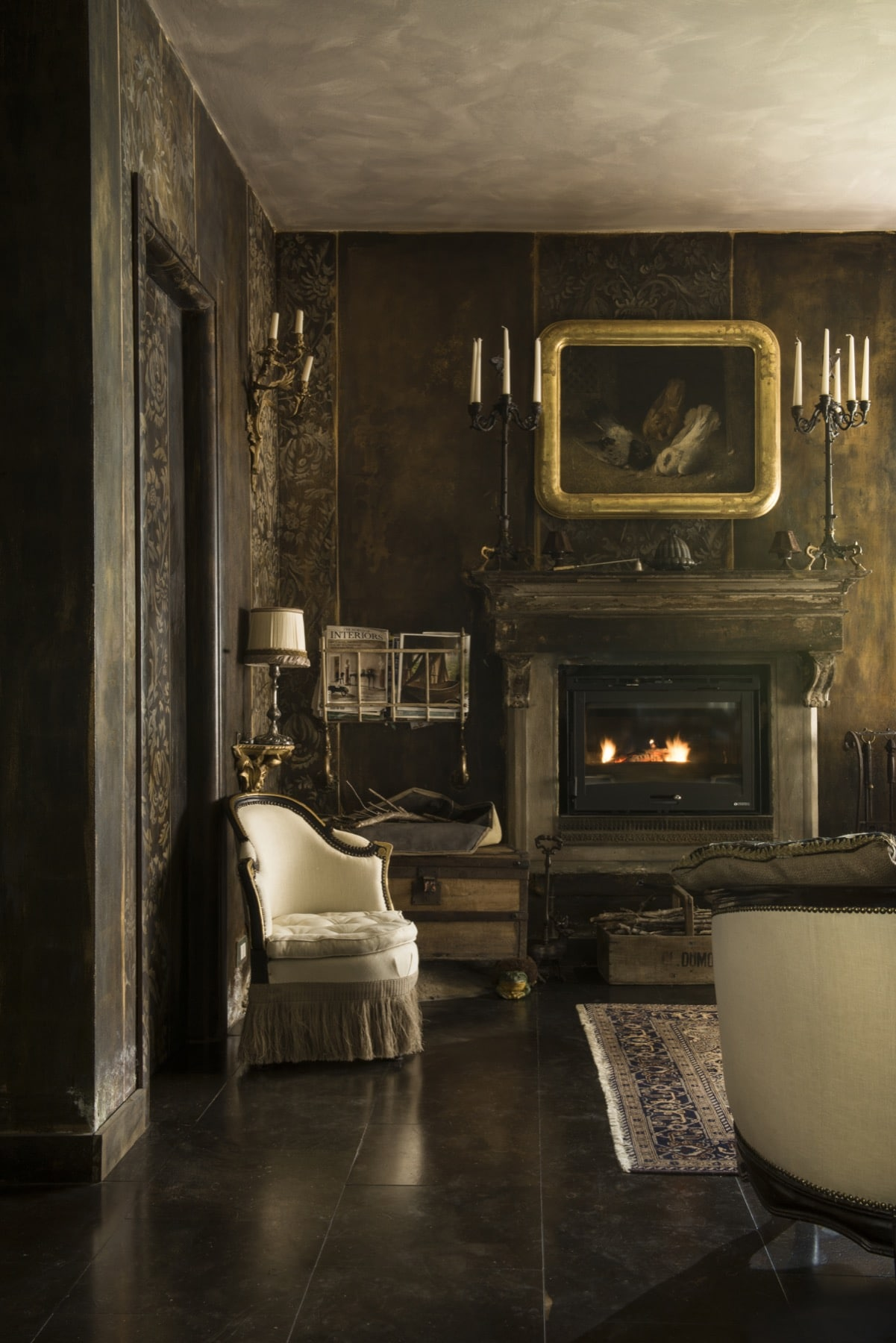 Living room of Le Selve — Quadrature Interiors